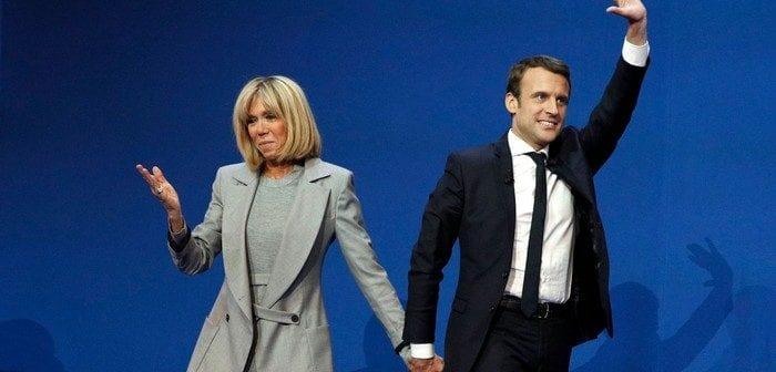Voici le poste que Macron voudrait créer pour sa femme, s'il est élu président de la République