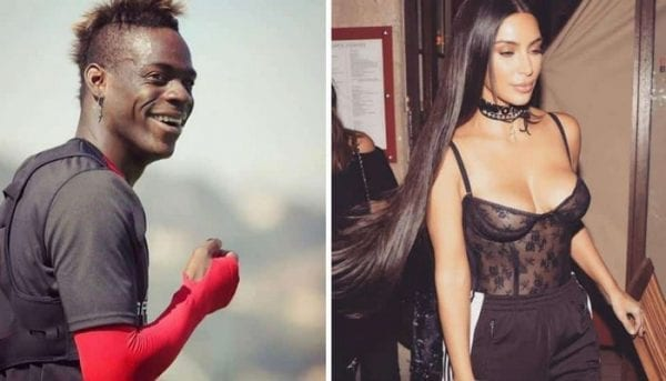 Mario Balotelli humilie Kim Kardashian...Photo