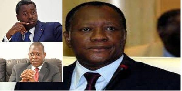 Togo: Alassane Ouattara fait virer un ministre du  gouvernement de Faure Gnassingbé, (source)