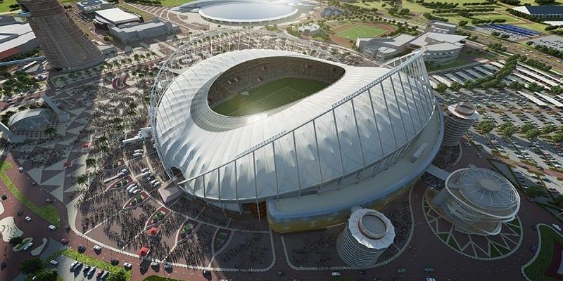 Mondial 2022 le stade international khalifa climatis du qatar est pr t photos afrikmag - Stade coupe du monde 2022 ...