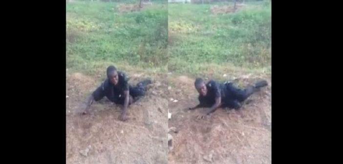 Cameroun: un agent de sécurité ivre se fait humilier en public (VIDÉO)