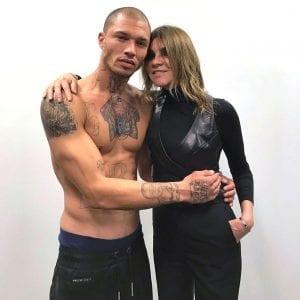 Jeremy Meeks , le prisonnier le plus sexy au monde fait le buzz sur le podium de la Fashion week. Photos