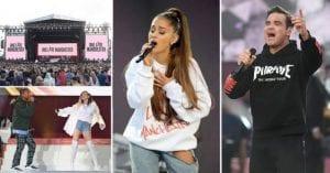 Attentat de Manchester: concert émouvant d'Ariana Grande en hommage aux victimes. Vidéo