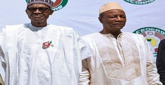 Le président Buhari adresse une correspondance à son homologue guinéen. La raison! (photo)