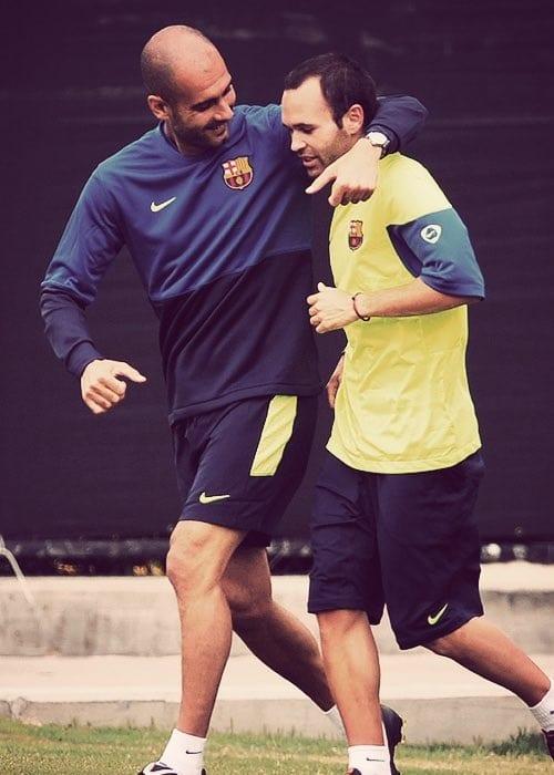 Manchester City: Pep Guardiola ne tient plus à sa parole, il veut un joueur du Barça...photo