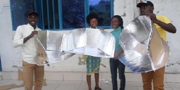 Inspiration: cuire des aliments à l'énergie solaire, le projet d'un ingénieur de Goma