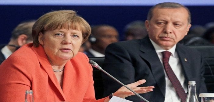 La chancelière allemande est « une ennemie de la Turquie », dixit le Président turc…Merkel contre-attaque!