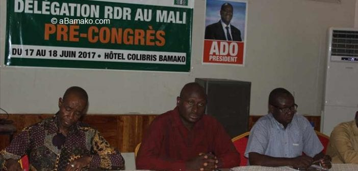 Politique: Le RDR Mali plaide pour l'intégration de la diaspora en 2020