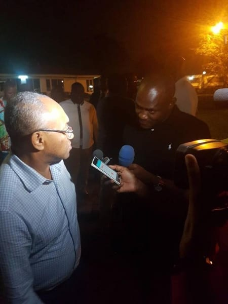 CAN 2019: Voici pourquoi Samuel Eto'o a rencontré Ahmad Ahmad à Kinshasa...photos