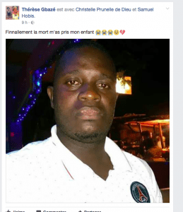 Côte d'Ivoire-Insécurité: Le fils de la comédienne Gbazé Thérèse tué par des coupeurs de route