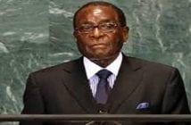 Mugabe..