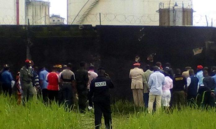 Cameroun: l'explosion d'une bombe crée la panique à Douala...photo