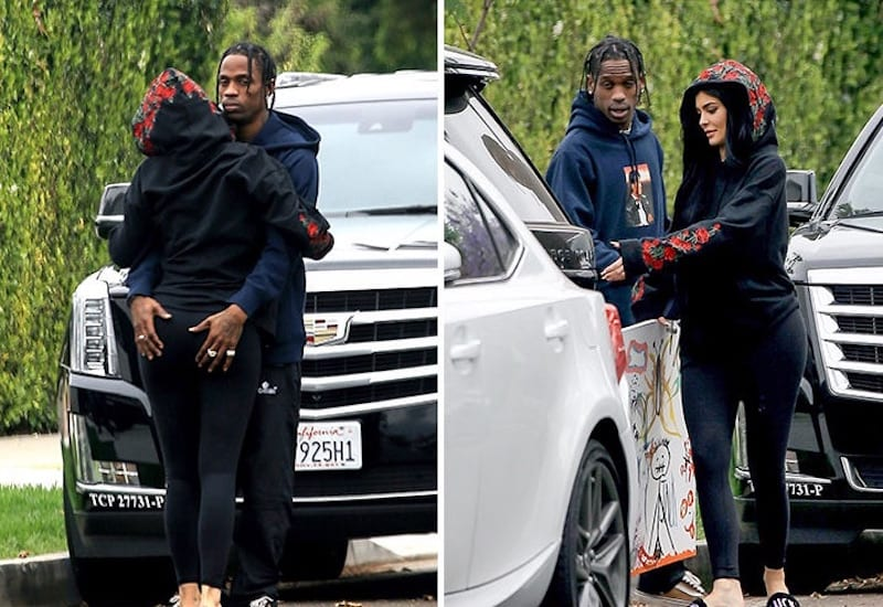People: Kylie Jenner enceinte de Travis Scott, le s*xe du bébé révélé!