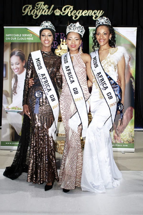 Une camerounaise élue Miss Africa Great Britain 2017
