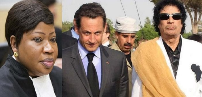 Mort de Khadafi: Bensouda s'exprime sur la plainte contre Sarkozy