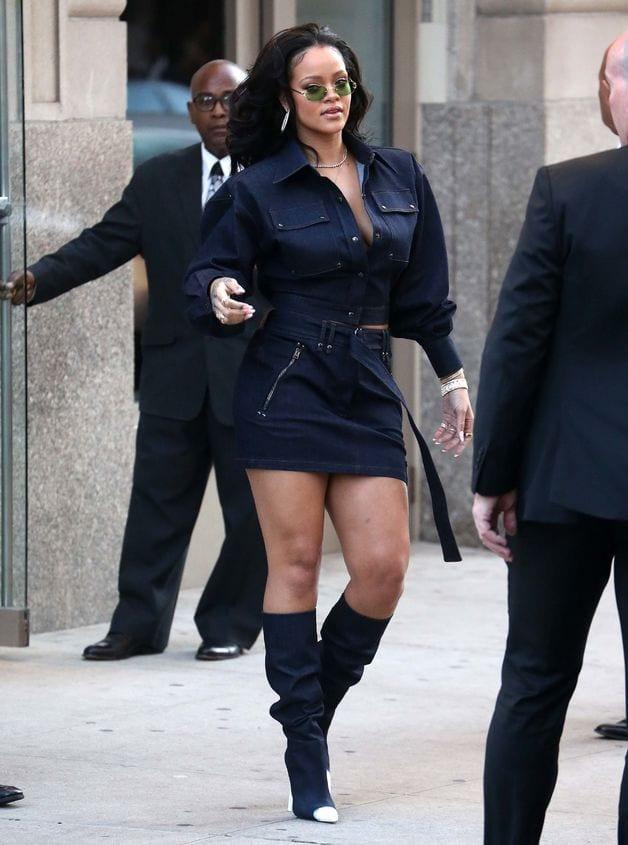 Quand Rihanna se livre à un « défilé » digne de la Fashion Week Neyorkaise