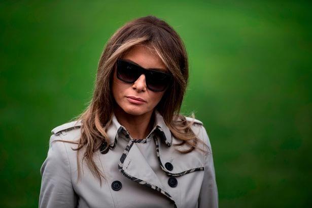 USA: Melania Trump remplacée par une doublure selon une théorie du complot (Photos)