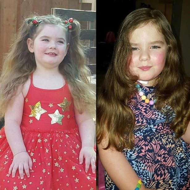 Emily Dover, âgée de 5 ans qui a des seins, ses règles et traverse déjà la ménopause