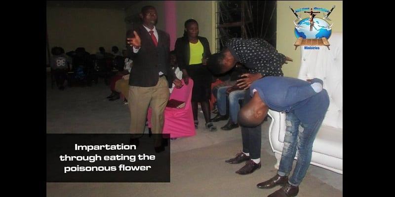 Afrique du Sud: un pasteur nourrit ses fidèles avec du cafard et des fleurs toxiques (photos)