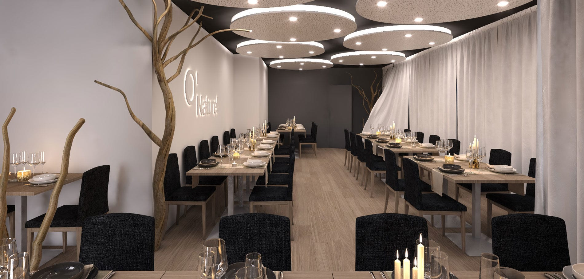 France: le premier restaurant naturiste ouvre ses portes à Paris (photo)