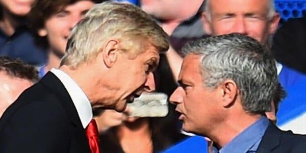 mourinho attaque wenger
