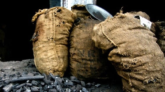 sac de charbon