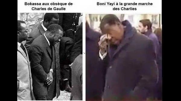 Bokassa et Boni Yayi