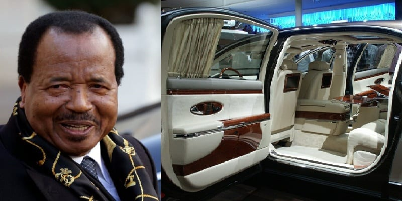 cameroun le pr sident paul biya s offre deux limousines 700 millions de fcfa afrikmag. Black Bedroom Furniture Sets. Home Design Ideas
