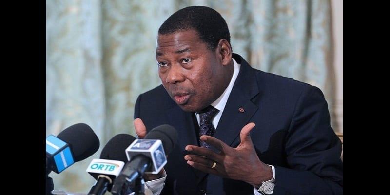 Benin's President, Thomas Boni Yayi give