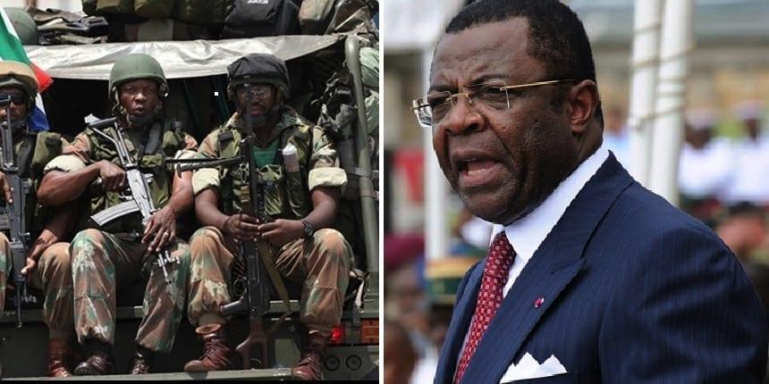 Mebe Ngoo-militaires