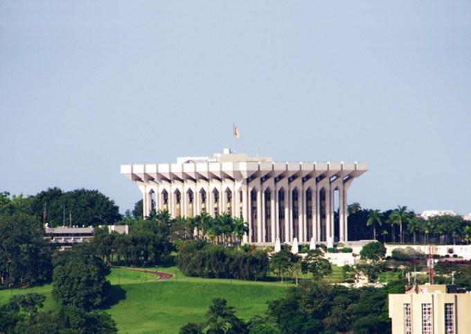 Cameroun- Le palais présidentiel