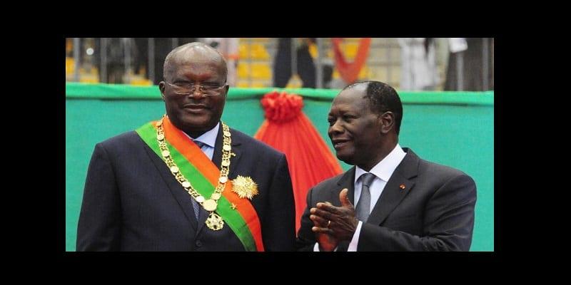 Kabore et Ouattara