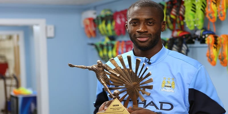 yaya African player of the year1