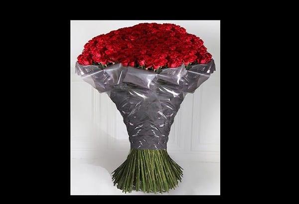 D couvrez le bouquet saint valentin le plus cher du monde for Bouquet st valentin pas cher