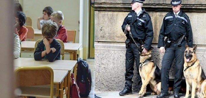 Un-enfant-interroge-par-la-police-pour-une-faute-d-anglais-720×340