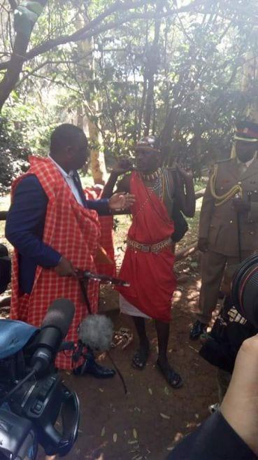 Macky Sall s'intéresse aux rapports diplomatiques et à la tradition kenyane