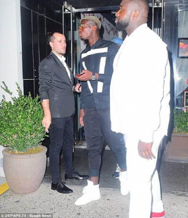 Paul Pogba fait la fête avec Drake: PHOTOS