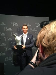 Joueur européen de l'année : Cristiano Ronaldo remporte la majorité des votes des journalistes...Photo
