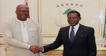 Kaboré et Théodore Mbia Nguéma