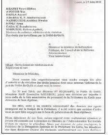 Togo: Des faussaires dénichés à la Préfecture du Golfe, adressent une note au ministre pour une intercession