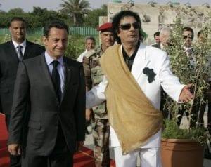 La justice découvre un carnet détaillant les sommes occultes que Kadhafi transférait à Sarkozy