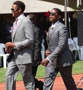 Les fils du président Mugabe expulsés de leur appartement en Afrique du Sud. La raison! (vidéo)