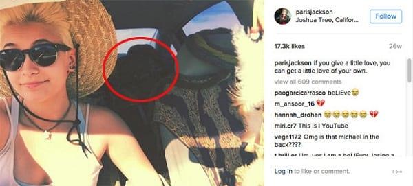 Michael Jackson serait en vie selon une photo postée par sa fille: PHOTO