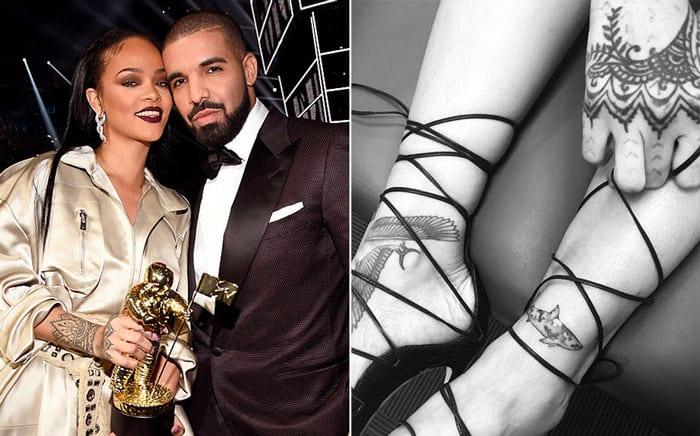 Rihanna et Drake: Voici la nouvelle façon pour chacun d'exprimer son amour pour l'autre...(photos)