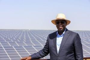 Macky Sall inaugure la plus grande centrale solaire d'Afrique de l'Ouest