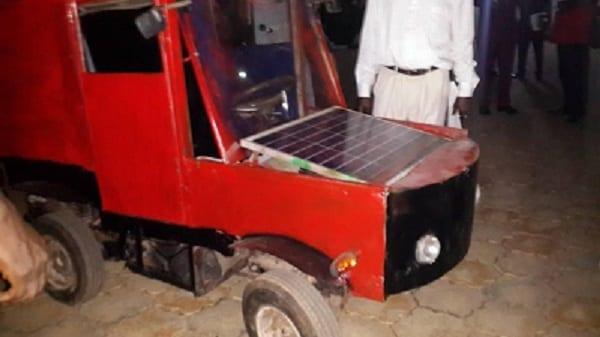 Inspiration: Un jeune nigérian de 16 ans invente une voiture (PHOTOS)