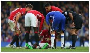 Football: Eric Bailly, grièvement blessé?