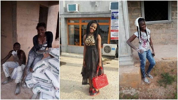 Une jeune maçonne envoie un puissant message aux femmes: PHOTOS