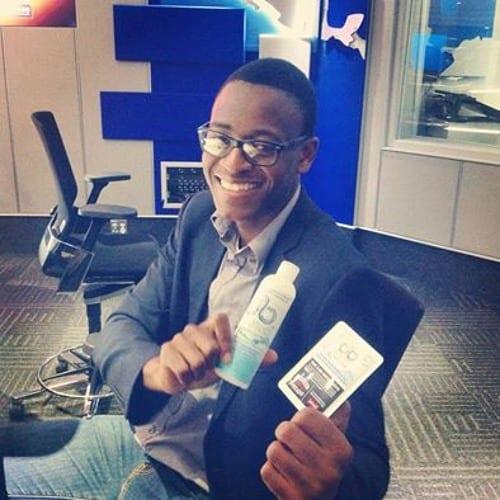 Entrepreneuriat: A 21 ans, il invente un gel qui permet de prendre un bain sans utiliser de l'eau