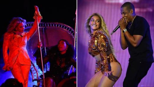 USA: Serena williams sur scène avec Beyoncé... (vidéo)